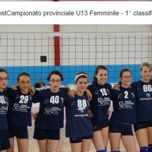 U13 Campioni Provinciali 2008